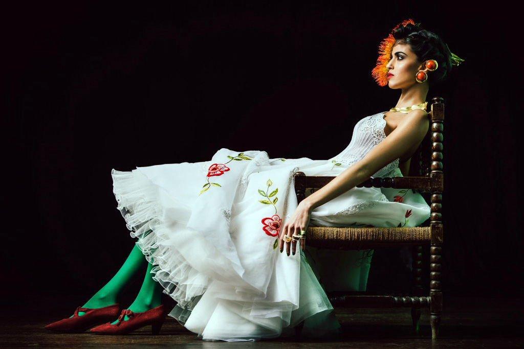 Francesca Paterno Abiti da Sposa e Cerimonia Tributo a Frida Kahlo